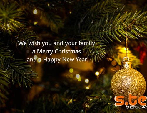 s.tec wishes you happy holidays